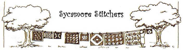 Sycamore Stitchers Logo